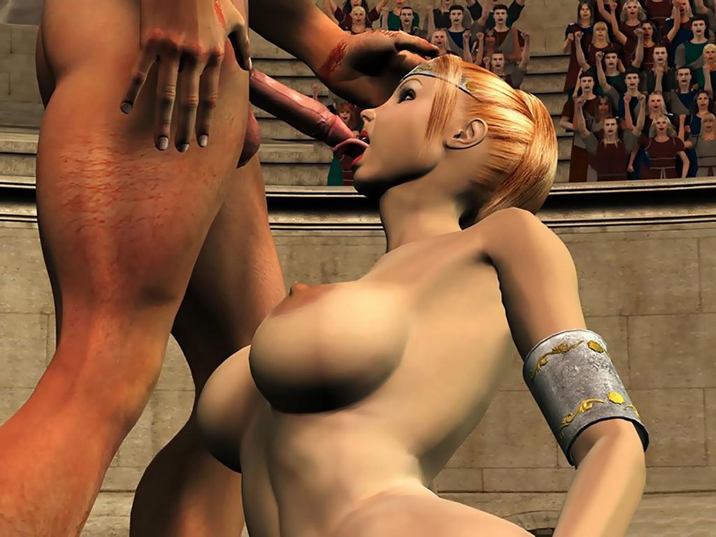 Порно Комиксы Гладиаторов